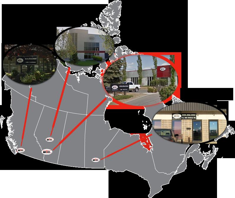 Arctec locations